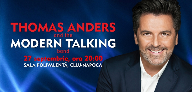 Thomas Anders si Medline: parteneri la Cluj!